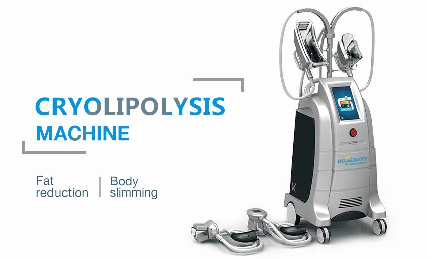 Professional Cryo Fat Freeze Machine Slimming Loss Weight