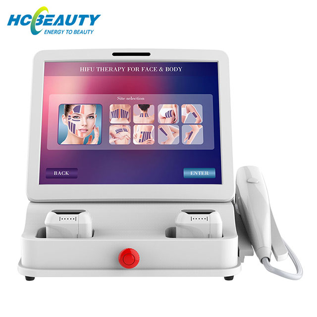 Anti Aging High Intensity Focused Ultrasound Facelift