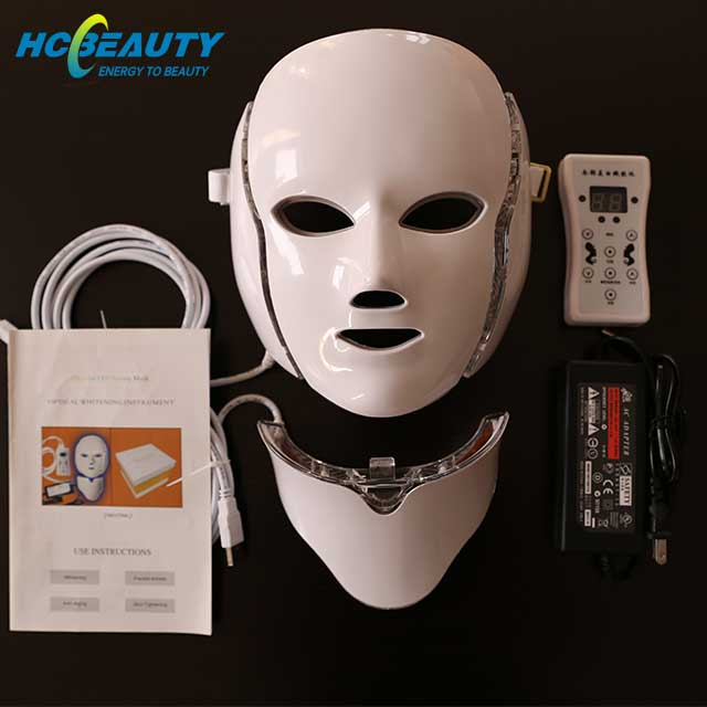 Wrinkle Removal Feature Led Light Therapy Mask