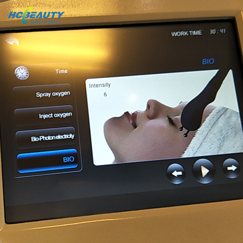 Oxyjet Machine Professional Facial Care Skin Rejuvenation