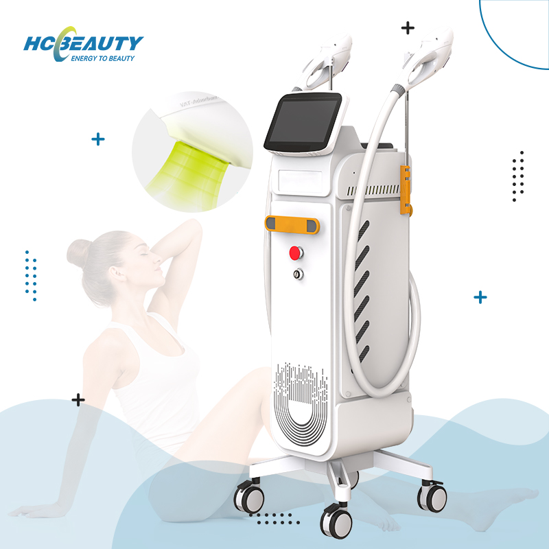 Professional Skin Rejuvenation Double Handles Ipl Hair Removal for Salon