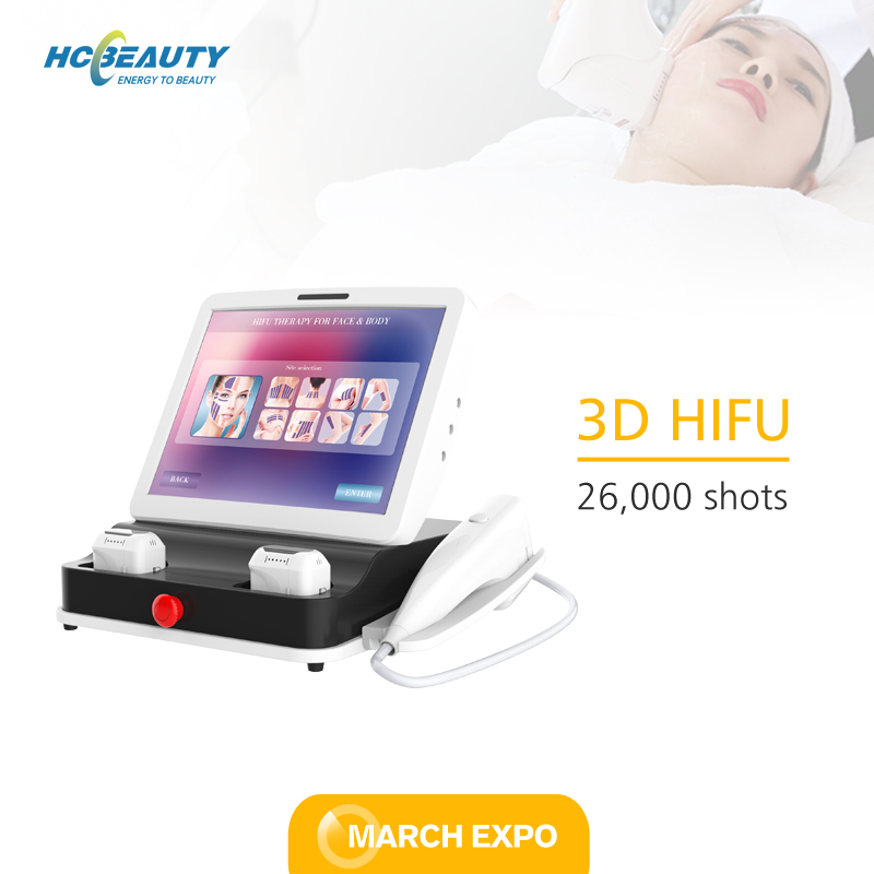 3d Hifu Machine 11 Lines 5 Cartridges