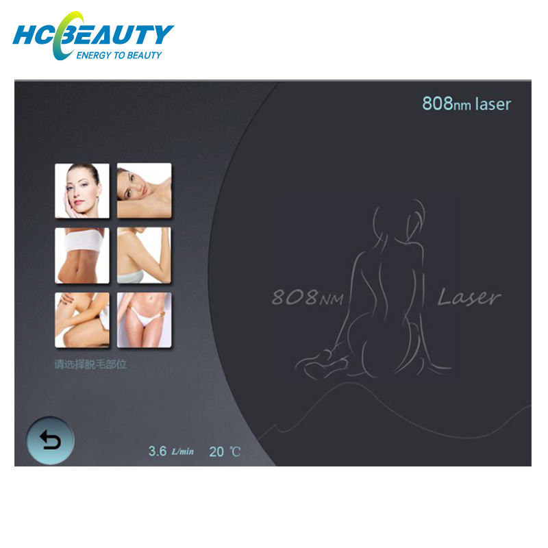 Diode Laser Underarm Hair Removal Machine 2019 Hot Sale