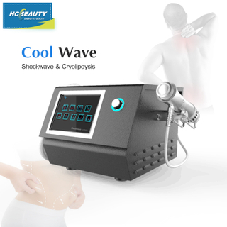 Newly 2 in 1 Body Slimming Pain Relief Cool Wave Machine